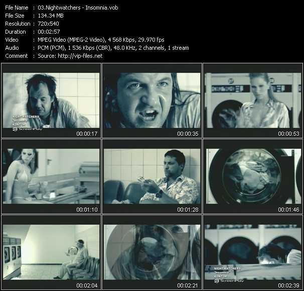 Nightwatchers video screenshot