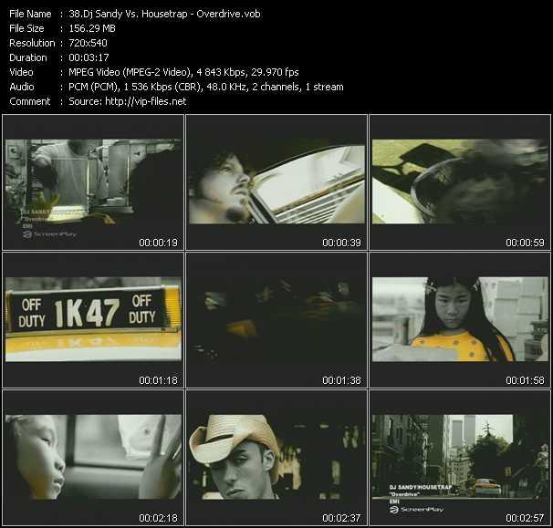 Dj Sandy Vs. Housetrap video screenshot