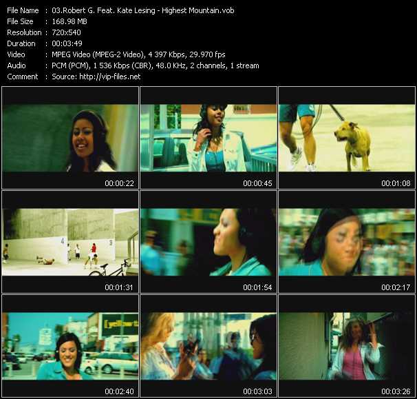 Robert G. Feat. Kate Lesing video screenshot
