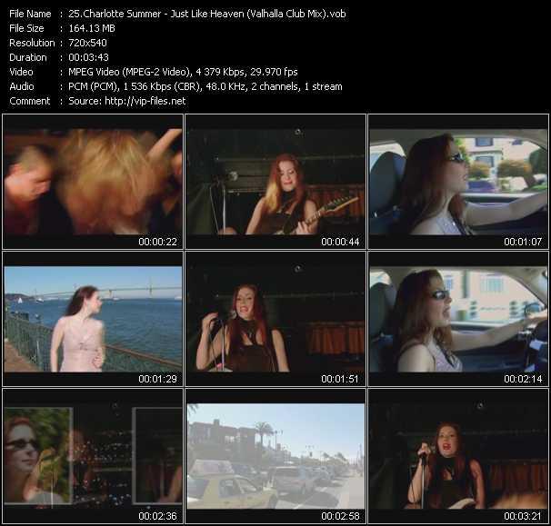 Charlotte Summer video screenshot