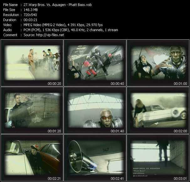 Warp Brothers Vs. Aquagen video screenshot