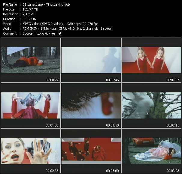 Lunascape video screenshot