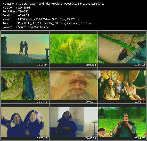 Sarah Vaughan And Adam Freeland video screenshot
