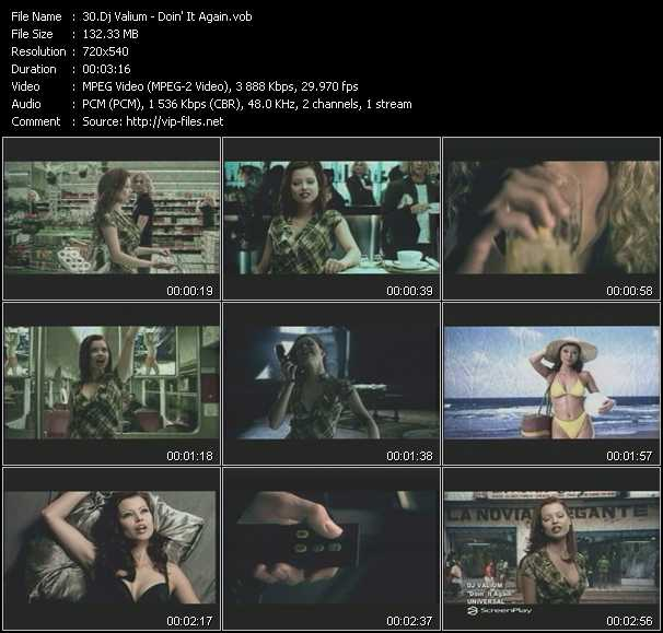 Dj Valium video screenshot