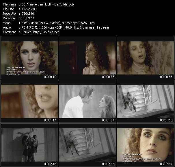 Anneke Van Hooff video screenshot