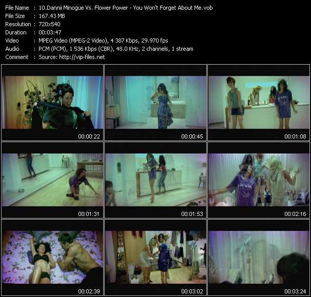 Dannii Minogue Vs. Flower Power video screenshot