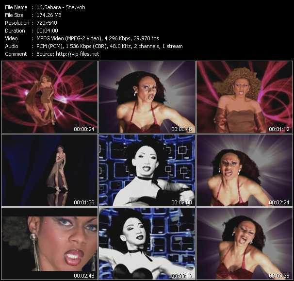 Sahara video screenshot