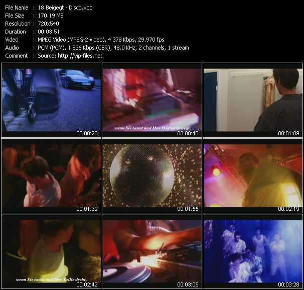 Beigegt video screenshot