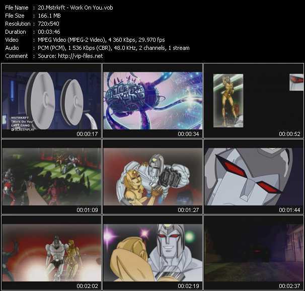Mstrkrft video screenshot