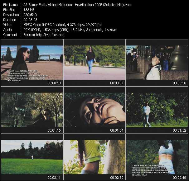 Zamor Feat. Althea Mcqueen video screenshot