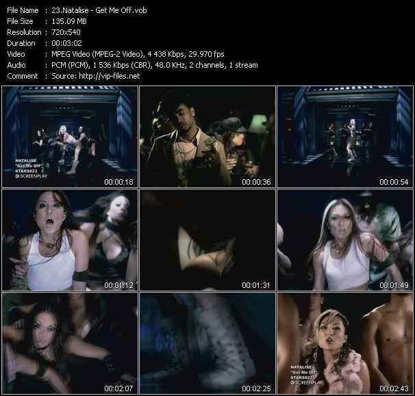 Natalise video screenshot