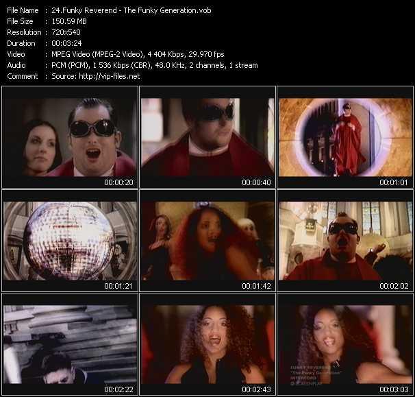 Funky Reverend video screenshot