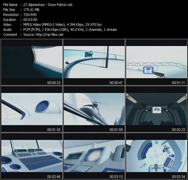 Alpinestars video screenshot