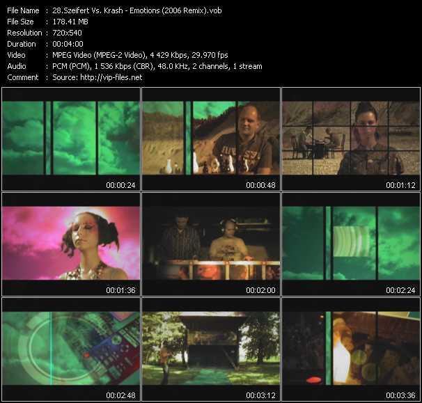Szeifert Vs. Krash video screenshot
