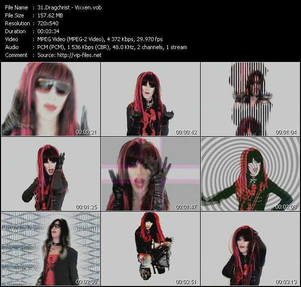 Dragchrist video screenshot