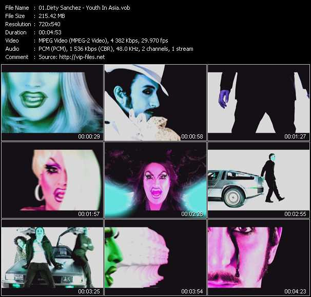 Dirty Sanchez video screenshot