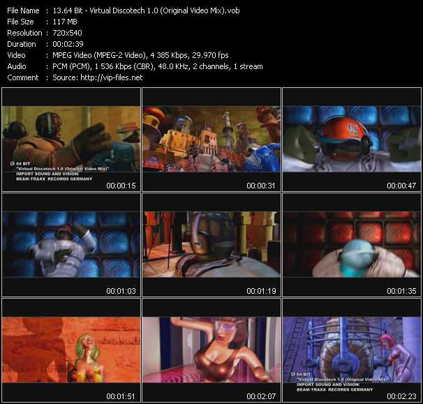 64 Bit video screenshot