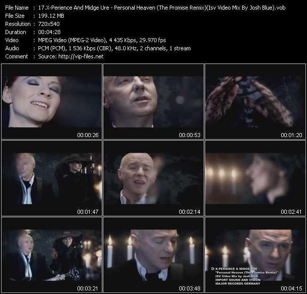 X-Perience And Midge Ure video screenshot