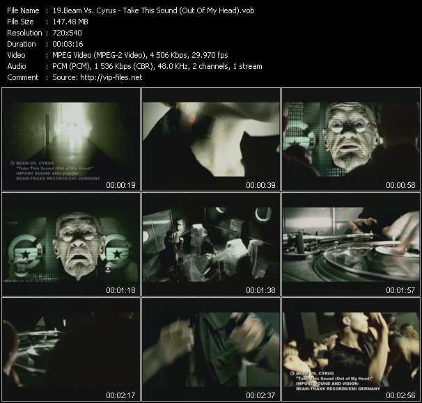 Beam Vs. Cyrus video screenshot