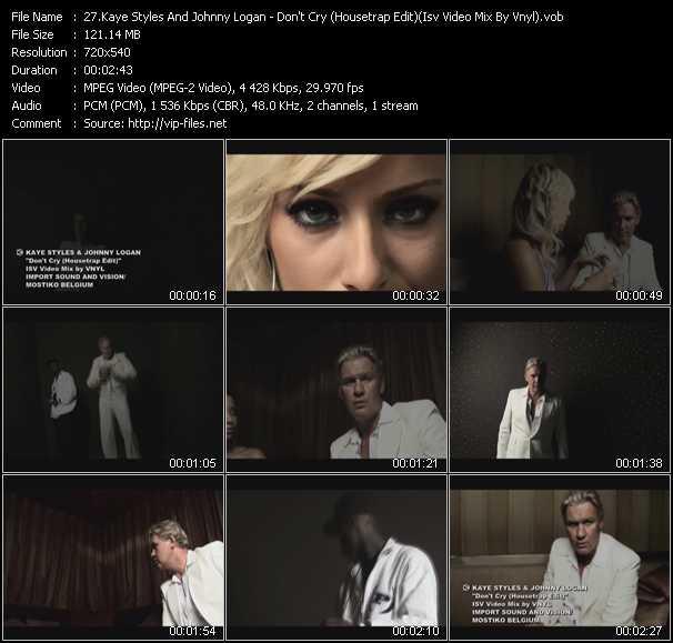 Kaye Styles And Johnny Logan video screenshot