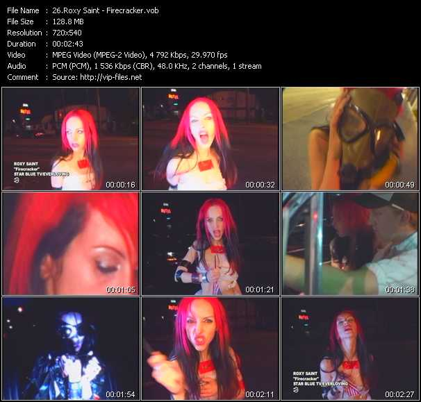 Roxy Saint video screenshot