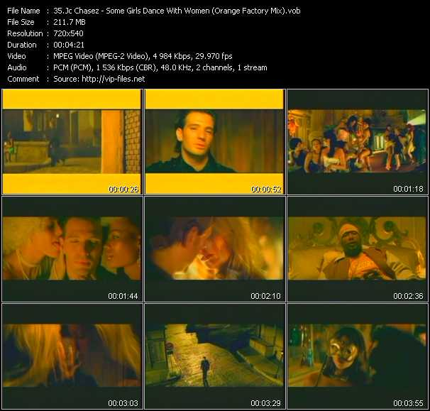 Jc Chasez video screenshot