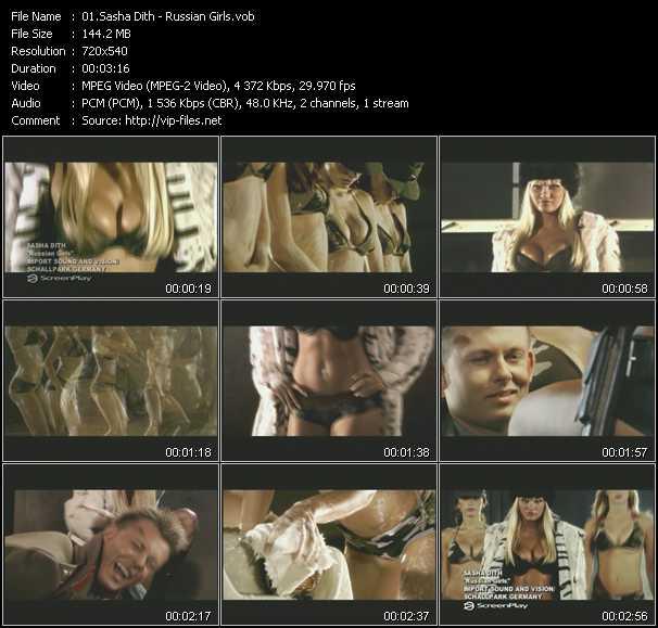 Sasha Dith video screenshot