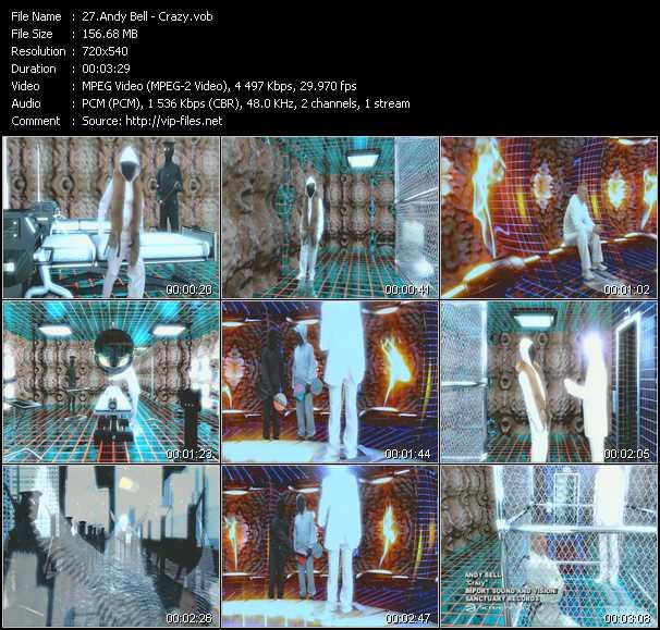 Andy Bell video screenshot