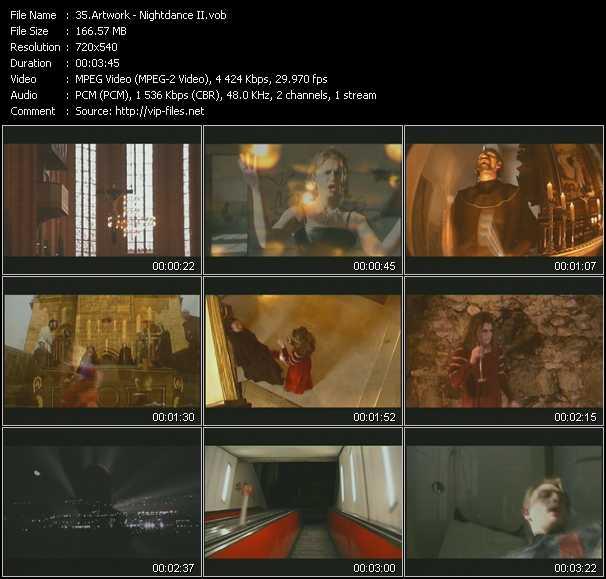 Artwork video screenshot