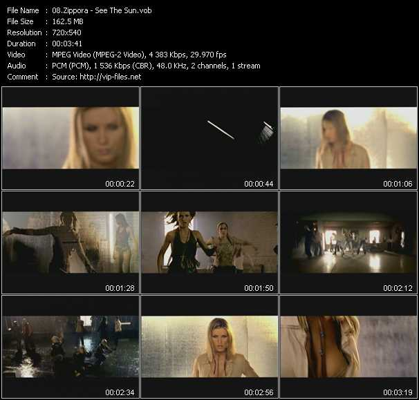 Zippora video screenshot