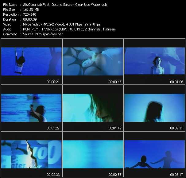 Oceanlab Feat. Justine Suisse video screenshot