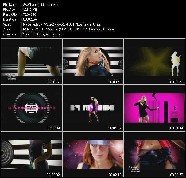 Chanel video screenshot
