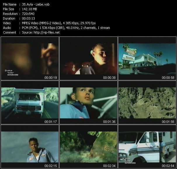 Ayla video screenshot