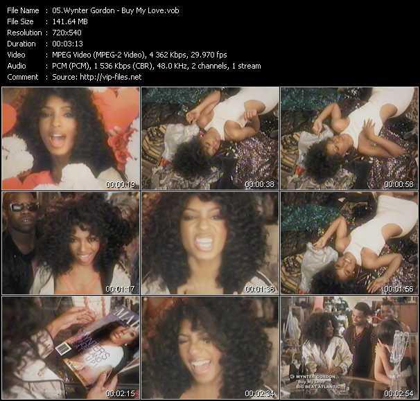 video Buy My Love screen