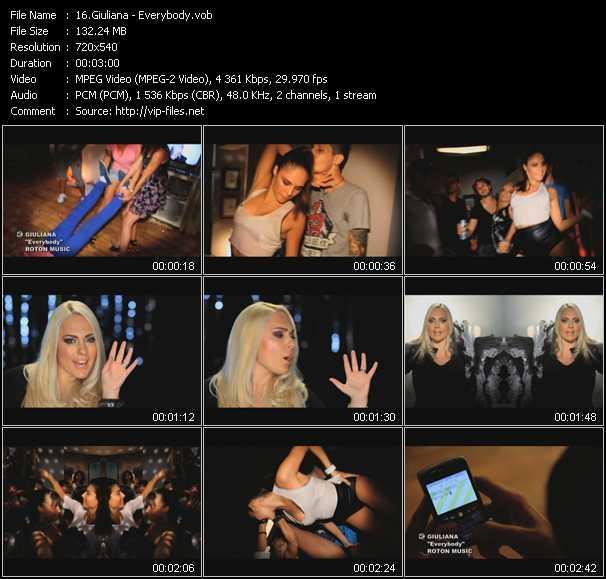 Giuliana video screenshot