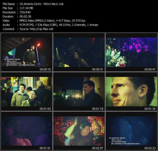 Artento Divini video screenshot