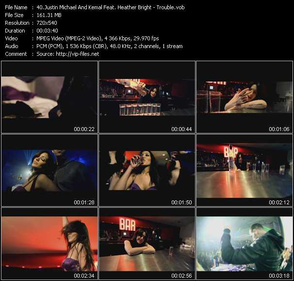 Justin Michael And Kemal Feat. Heather Bright video screenshot