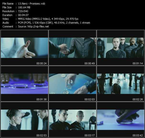 Nero video screenshot