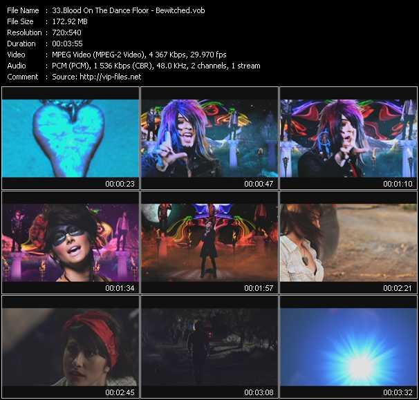 Blood On The Dance Floor video screenshot