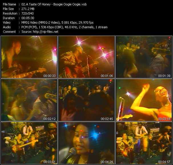 A Taste Of Honey video screenshot