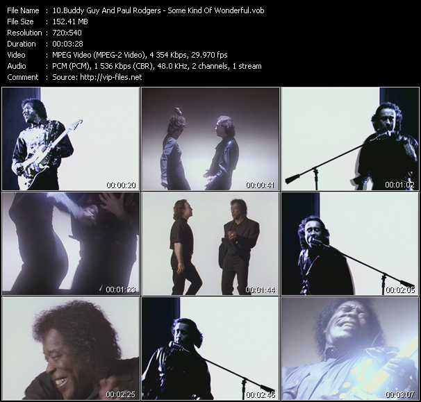 Buddy Guy And Paul Rodgers video screenshot