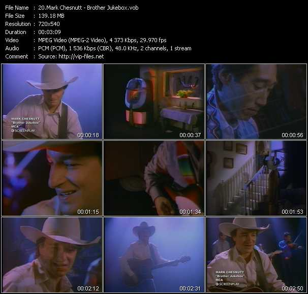 Mark Chesnutt video screenshot