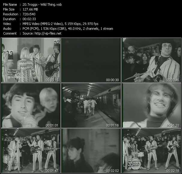 Troggs video screenshot