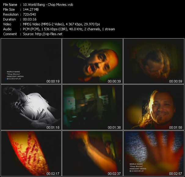 World Bang video screenshot