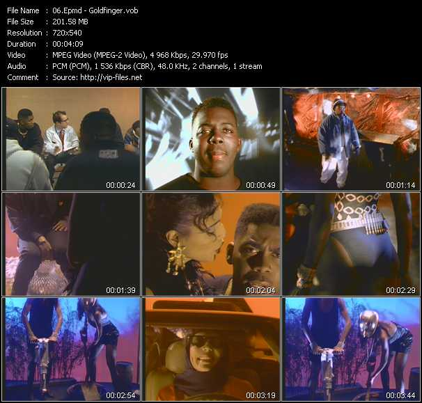 video Goldfinger screen