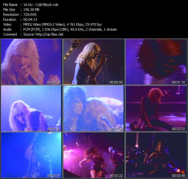 Kix video screenshot