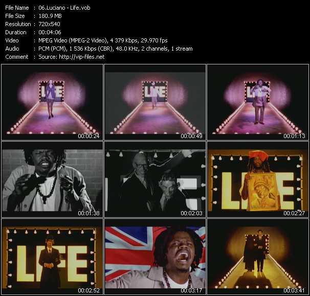 Luciano video screenshot