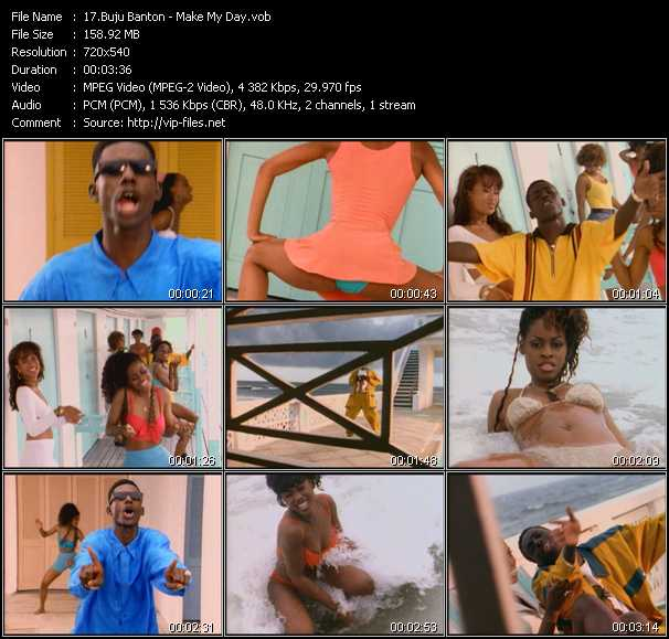 Buju Banton video screenshot