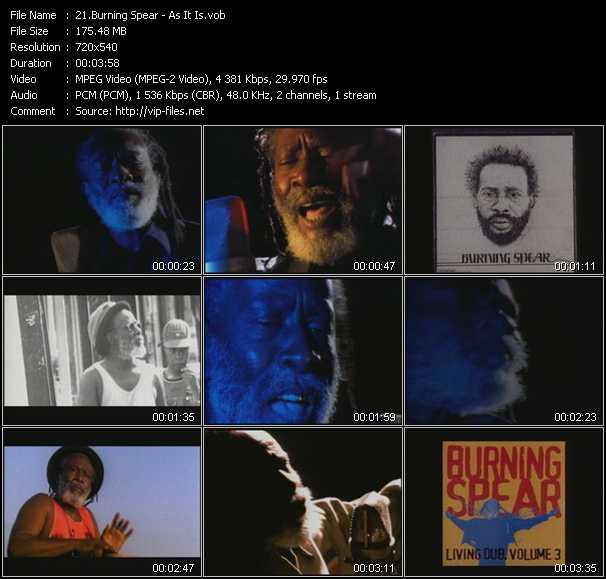 Burning Spear video screenshot