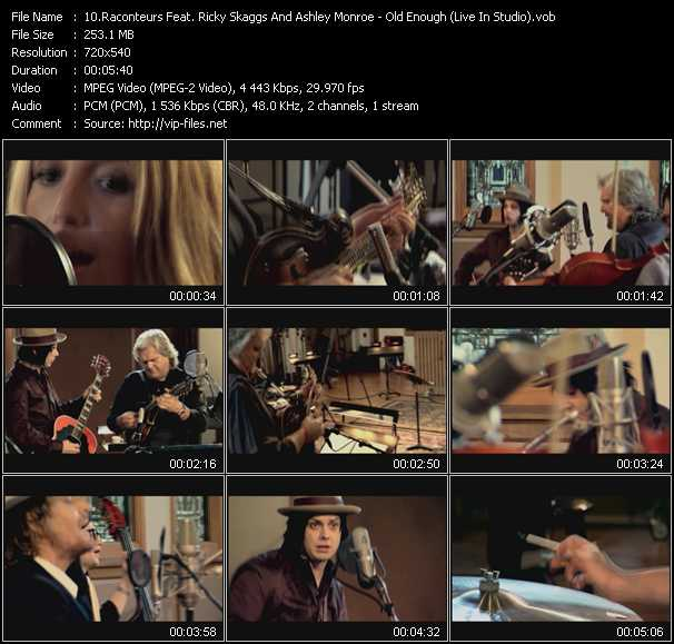Raconteurs Feat. Ricky Skaggs And Ashley Monroe video screenshot